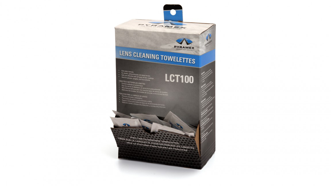 100 WRAPPED LENS CLEANERS